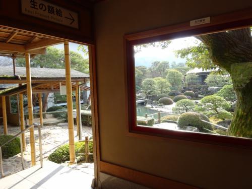 島根県へ移動、足立美術館へアラエッサッサーで笑った後→雨の宍道湖(2/2)