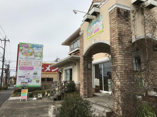 花屋さん、、、雑貨屋さん、、、プログラミング教室、、、色々。<br /><br />なんと、古市場の古民家カフェの姉妹店。