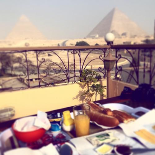 G.Wを利用しエジプトに一人旅