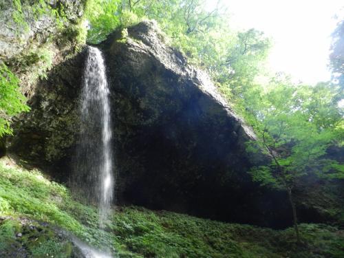 秋田県北端の町・藤里町にある2つの滝『銚子の滝』『峨瓏の滝』◆2016年8月・東北縦断~函館の旅《その9》