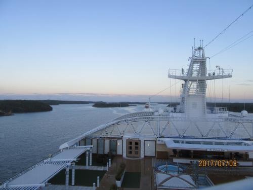 今回の旅行も5日目になりました。<br />昨日16時にヘルシンキ港を出港して、今朝7時にストックホルム港に入港しました。<br />今日も市内観光だけののんびり日程ですが、帰船時間は早く午後2時には出港します。<br />