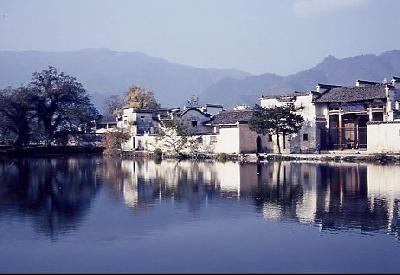 黄山の周辺、宏村・屯渓