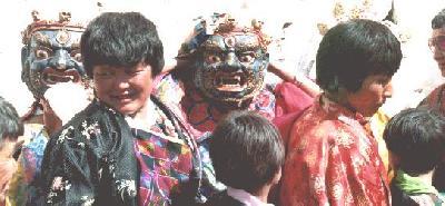 ブータンの春祭り