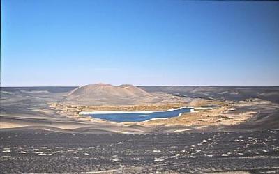 砂丘を求めて - ナムス-    Namus, Lybia
