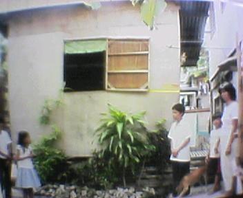 フィリピンのスラムにホームステイ