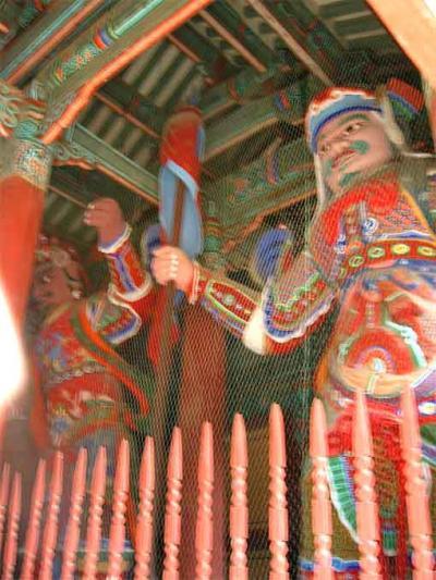 2004年韓国国立公園と古寺巡り(5)鶏竜山国立公園・東鶴寺