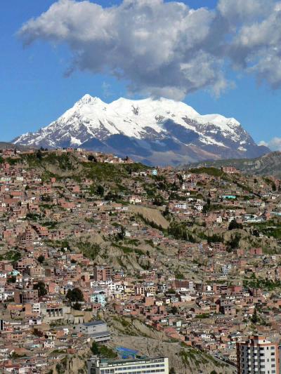 中南米・バックパッカーの旅【10】 ボリビアのラ・パスで唾かけ強盗に遭う