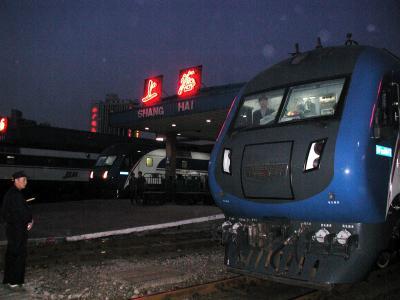 上海-北京・直達列車初乗車!