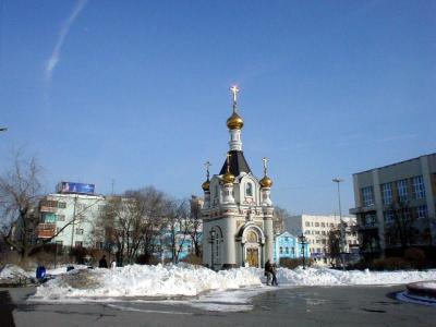 ロシア7: 西シベリア エカテリンブルグ 「ロマンチック ミニ・チャペル」