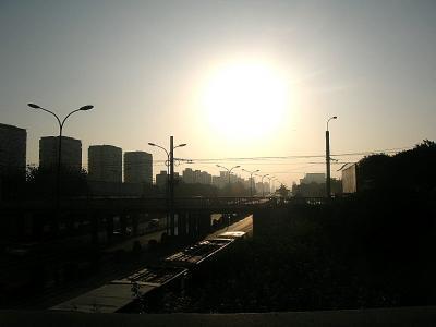 亜運村から安定門までジョギング