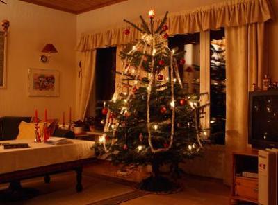 ノルウェーの家族とクリスマスを過ごす