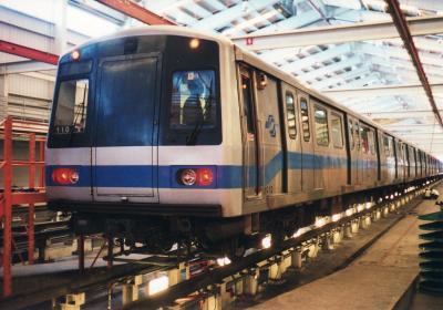 台北 MRTの車両基地