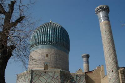 10年ぶりのウズベキスタン、サマルカンドその3、チムール廟