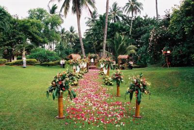 セブ島 リゾートで結婚式!