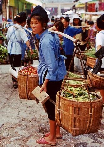 ★ちょっと昔の中国 貴州省(5、完) −凱里周辺 (排羊の集落と台江の町)