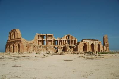 北アフリカ:リビア~砂漠と遺跡の大地?~【サブラータ遺跡編】