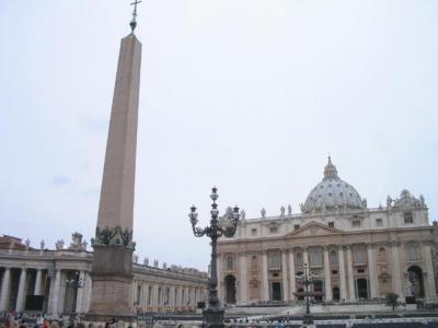 小説「天使と悪魔」を巡る旅 in ローマとバチカン