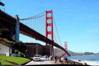360°のゴールデンゲートブリッジ ☆サンフランシスコ・ベイエリア紀行(15)☆