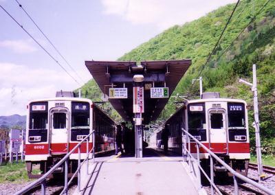 野岩鉄道 乗車記。