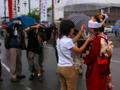 天下の美祭り 会津田島祇園祭 七行器行列ー最終編