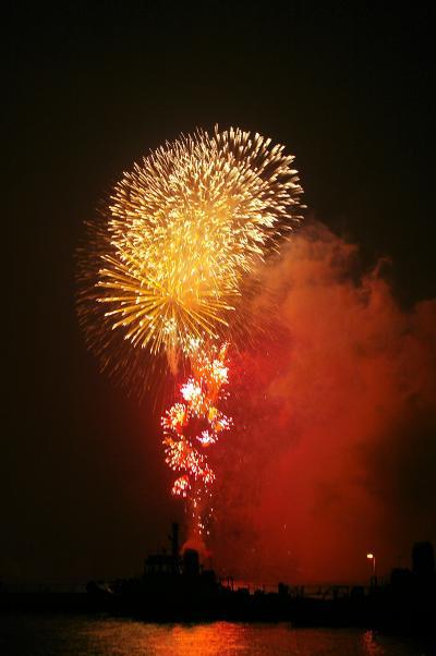 2007夏2 みなとこうべ海上花火大会