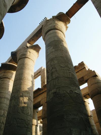 ルクソールのお気に入り、カルナック神殿とルクソール博物館