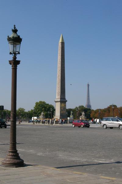2007夏3 Europe1 パリで街歩き