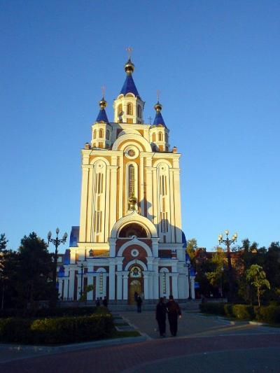 ロシア17: 極東ロシア 秋の 「ハバロフスク」