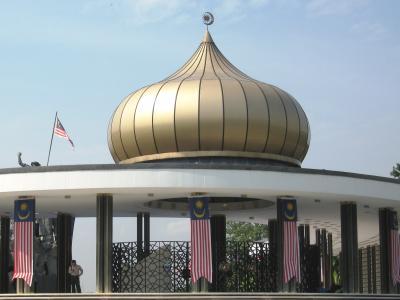 2007秋、マレーシア旅行記1(7):9月20日(4):クアラルンプール・国家記念碑