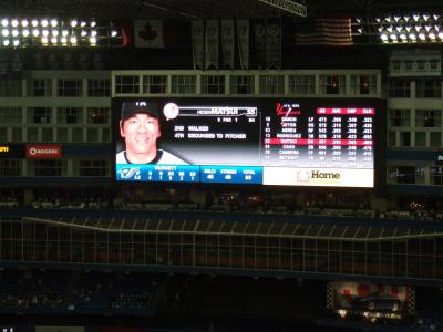 MLB観戦【ブルージェイズVSヤンキース】