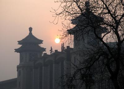 北京奮闘記084~在正月十五送胖哥去机場