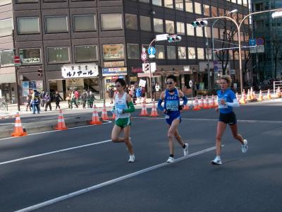 東京マラソン2008 応援