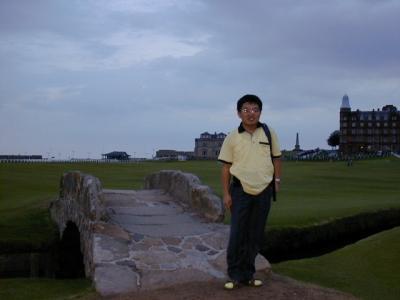 まだ未公開:ゴルフはしないがお散歩:セントアンドリュース