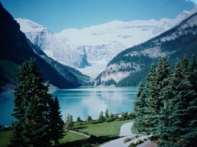 【No.6】 念願のカナダ・バンフ国立公園の『ルイーズ湖』