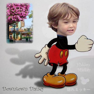 隠れミッキー ダウンタウン ディズニー