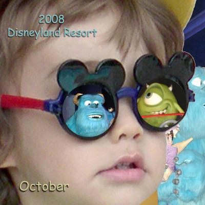 2008 Disneyland Resort October