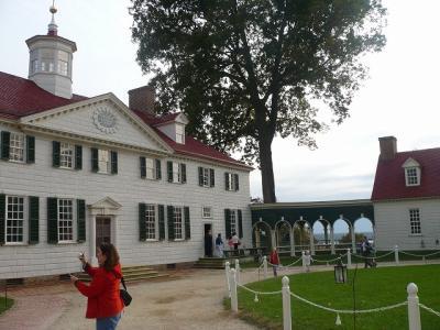 マウントヴァーノン(Mount Vernon)初代大統領ワシントン邸観光