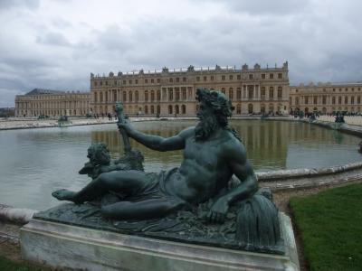 レンタカーで巡る春のフランス・・5日目前編 ヴェルサイユ宮殿