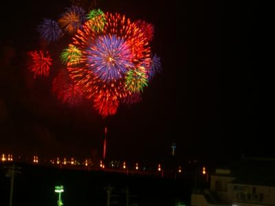 たかぼう☆江ノ島の花火を見る