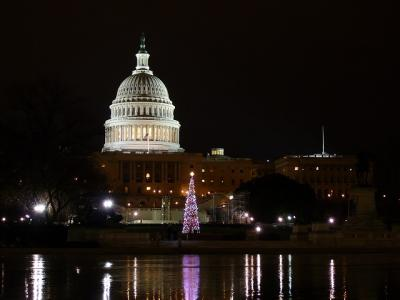 ワシントンDCでクリスマス