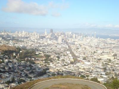 サンフランシスコ *** ツインピークス