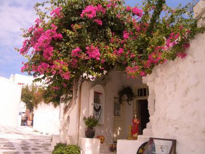 ギリシャ・ミコノス島(2008年9月)