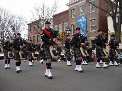 アレキサンドリアのSt. Patrick's Day(センパトリックスデー)のパレード