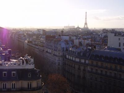 Paris★冬休み、家族で街歩き 1