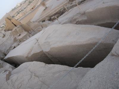 旅記録海外編2009 エジプト〔14−切りかけのオベリスク・アスワンハイダム編〕