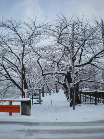 桜が待ち遠しい、東北の小京都角館。