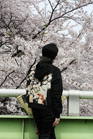 '09「神田川でお花見散歩♪」vol.1 [桜お花見&東京染物語博物館&芭蕉庵編]
