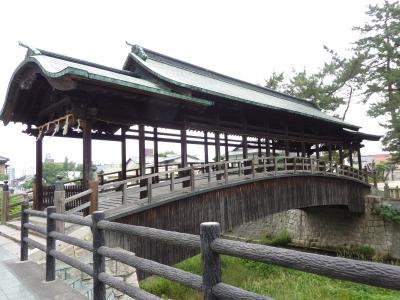 『屋根付き橋・・18・・鞘橋・さやばし(香川県琴平町 ...