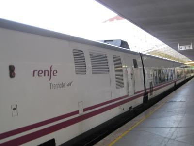 リスボンから 寝台列車(ルシタニア)でマドリード
