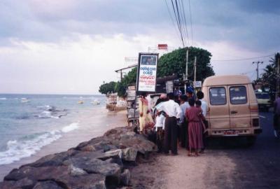 スリランカ内陸鉄道と南海岸の旅